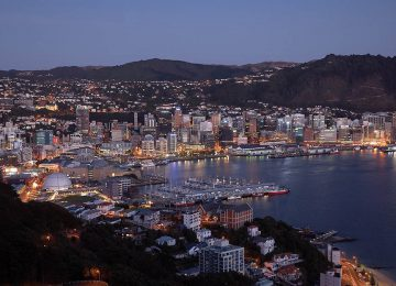 Wellington Harbour Wellington © Ian Trafford – Tourism New Zealand