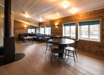 Wohn Esszimmer Svinøya Rorbuer Lofoten