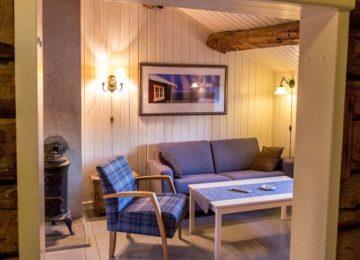 Wohnzimmer Svinøya Rorbuer Lofoten
