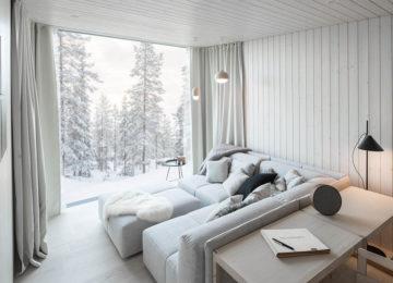 Artic TreeHouse Hotel Finnland Lappland