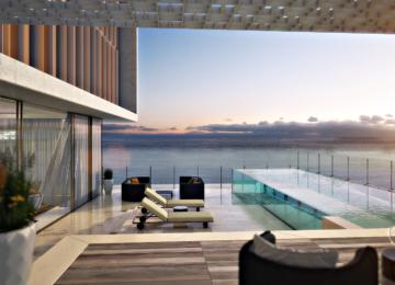 Sky Pool Suite Sonnenuntergang ©The Royal Atlantis Resort & Residences Dubai