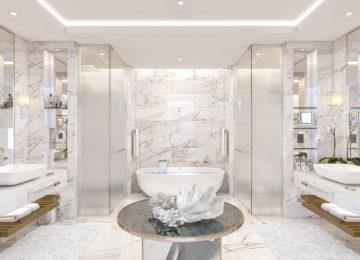 Sky Terrasse Suite Badezimmer ©The Royal Atlantis Resort & Residences Dubai