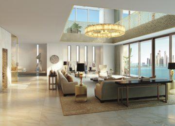 Penthouse Wohnbereich ©The Royal Atlantis Resort & Residences Dubai