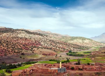 Moroccan Abadou – Village in the Atlas Mountains,Morocco, Africa