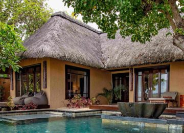 Villa mit Pool ©Shanti Maurice
