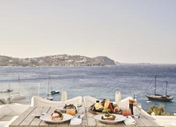 Dining Meerblick ©Katikies Mykonos