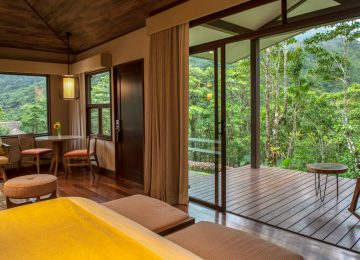 Suite im El Silencio Lodge & Spa Costa Rica Relais & Chateaux