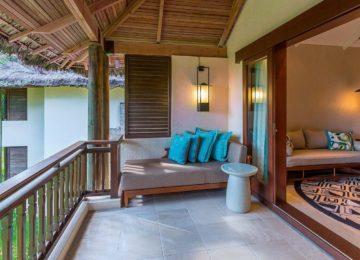 Junior Suite Balkon Constance Lemuria Resort Praslin, Seychellen
