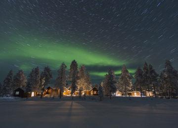 Northern Lights Fjellborg Arctic Lodge Schweden Lappland