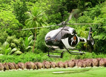Helipad© Kempinski Seychelles Resort Baie Lazare