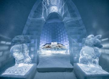 Icehotel-Kiruna Art suite-haven