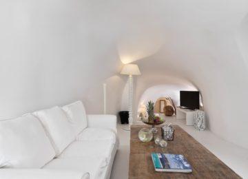 Luxus Villa Wohnbereich ©Katikies Chromata Santorini