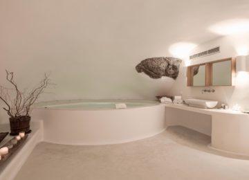 Luxus Villa Badezimmer ©Katikies Chromata Santorini