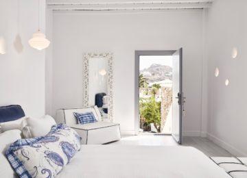 Honeymoon Suite mit eigenem Pool und Meerblick ©Katikies Mykonos