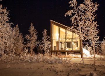 Artic Bath, Schweden Lapp landand-suite-outdoor