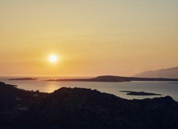 Sonnenuntergang©Acron Villas Paros