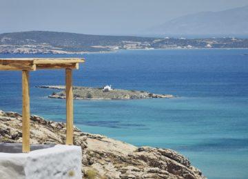 Blick auf Kolympithres©Acron Villas Paros
