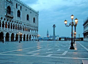 lux72wn-12172-Palazzo Ducale and the entrance to the Venice Port-High