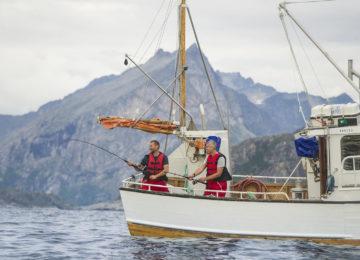 Stimmung Fischer Norwegen Luxusreise