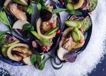 Sea food Mussels©Svart Hotel Norwegen