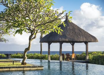 Luxus Villa privater Diningpavillon ©Shanti Maurice