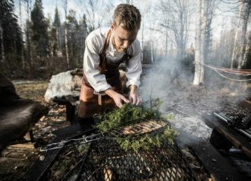 Treerestaurant Treehotel Schweden Lappland