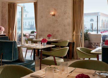 St Regis Venedig Luxushotel beste Lage-restaurant-garden