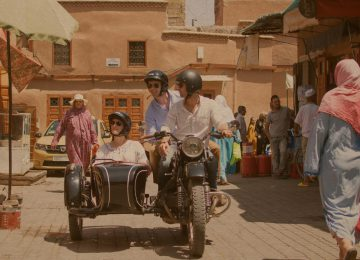 La Mamounia Select Luxury Travel Luxusreise Marrakesch vintage side car Medina